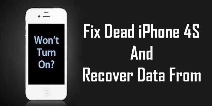 How To Fix A Dead iPhone 4S And Recover Data From It