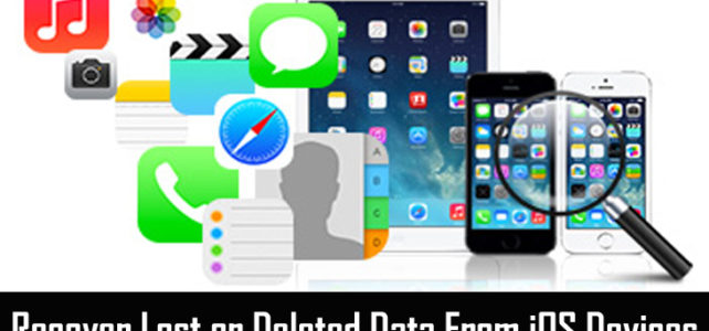 iOS Data Recovery: Recover Lost Data From iPhone, iPad, iPod Touch