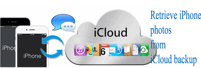 Recover iPhone photos from iCloud Backup
