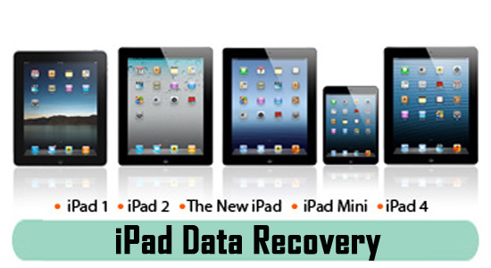 iPad 4, 3, 2, Mini, Air Data Recovery