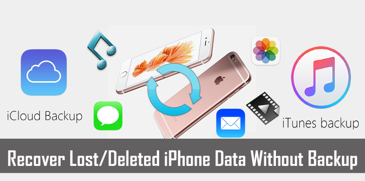 Recover lost data from iPhone Without Backup