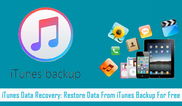 Extract Data From iTunes Backup For Free
