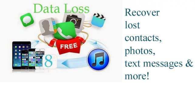 Recover lost contacts, photos, text messages, imessages after iOS 8 Update on Mac/Windows