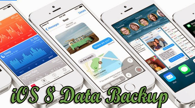backup iphone data before update to ios 8