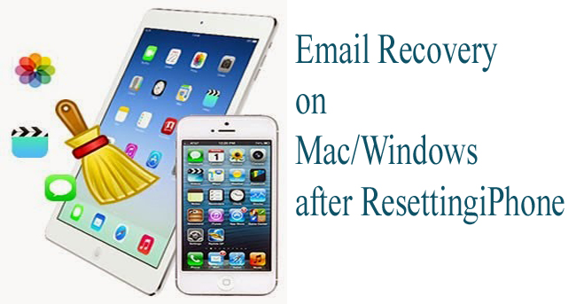 Email Recovery after iPhone