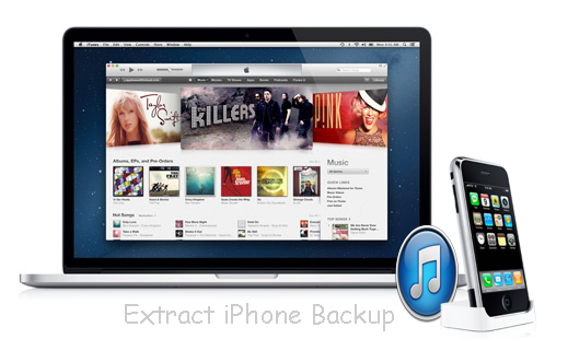 How to extract iPhone Backup from iTunes on Windows/Mac?