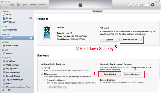 upade your idevice to ios 8