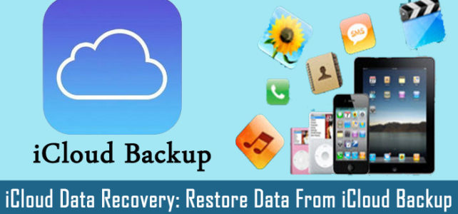 How To Recover iPhone/iPad/iPod Touch Data From iCloud Backup