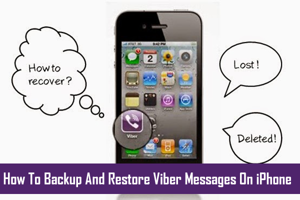 iPhone Viber Message Backup and Restore