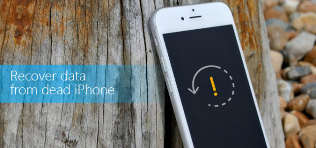 Top 3 Ways To Recover Data from a Dead iPhone