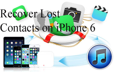 Recover Lost Contacts on iPhone 6