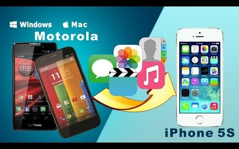 How to Transfer SMS, Contacts and More from Motorola to iPhone on Windows/Mac