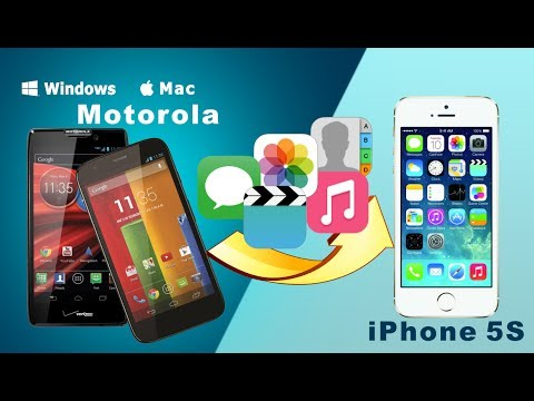Transfer SMS, Contacts and More from Motorola to iPhone