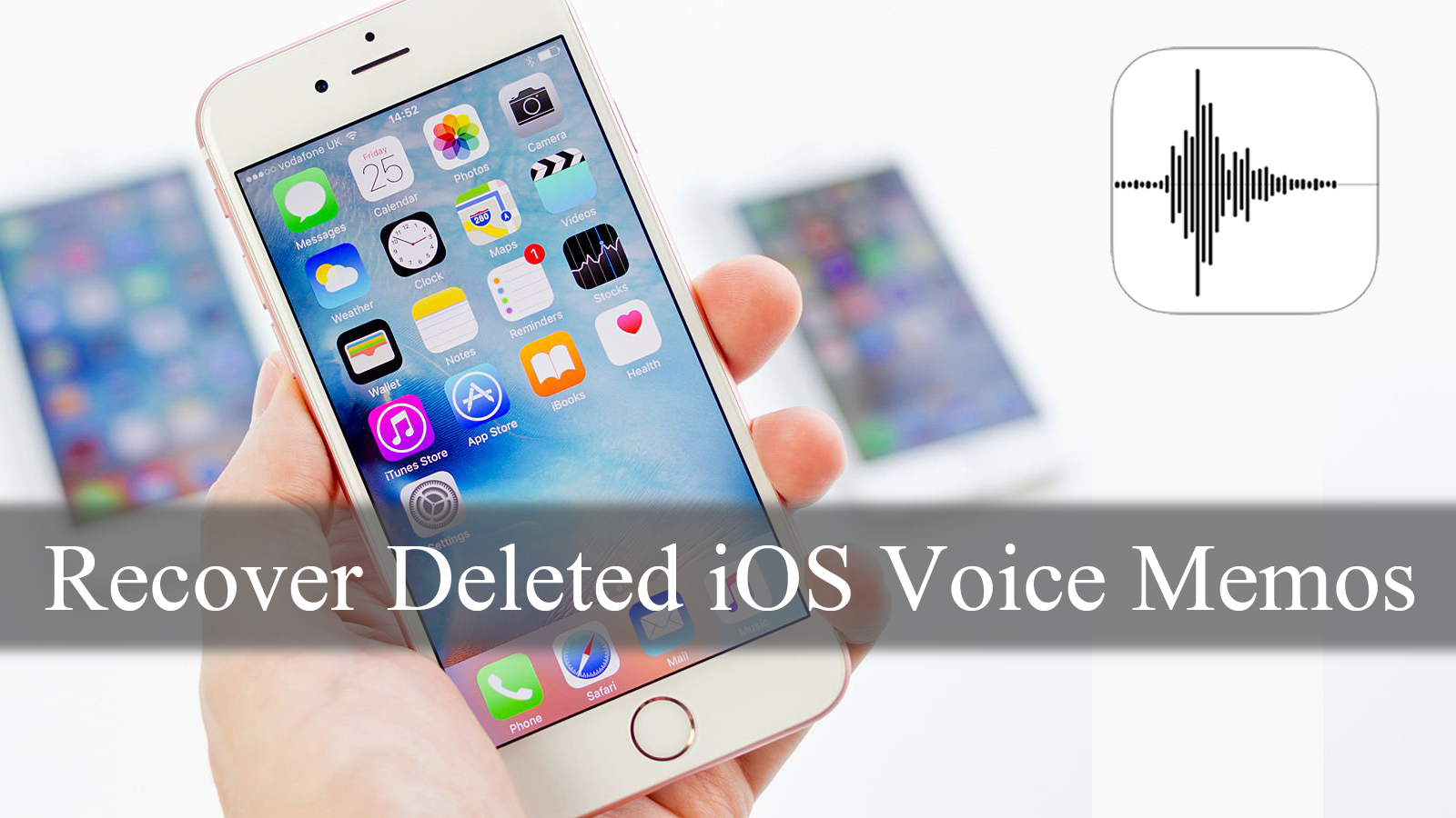 [GUIDE]- How to Recover Deleted Voice Memos from iPhone/iPad Without Any Backup