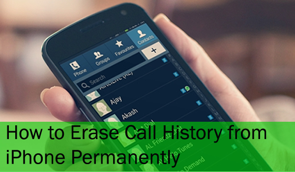 delete call history permanently copy