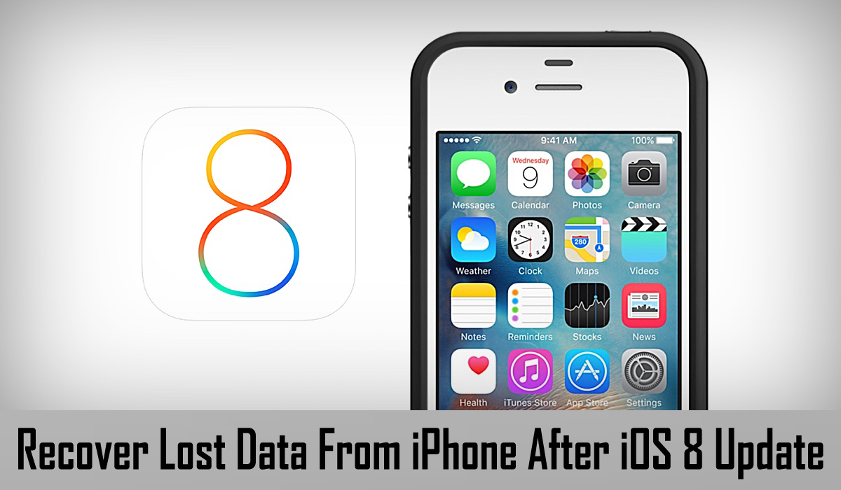 iOS 8 Data Recovery