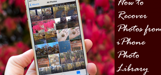 How to Recover Photos from iPhone Photo Library on Windows/Mac