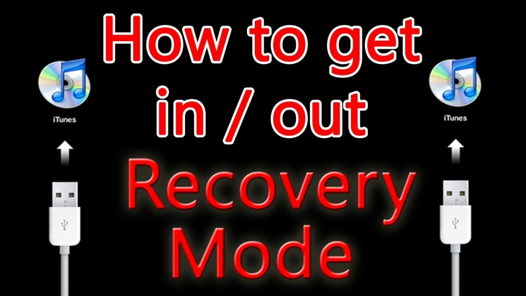 How To Put iPhone/iPad/iPod In And Out Of Recovery Mode  On Windows/Mac
