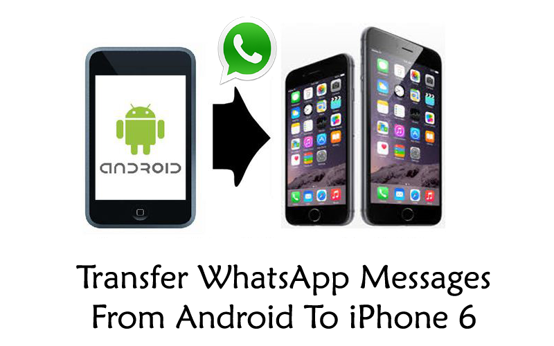 Transfer WhatsApp Messages From Android To iPhone 6