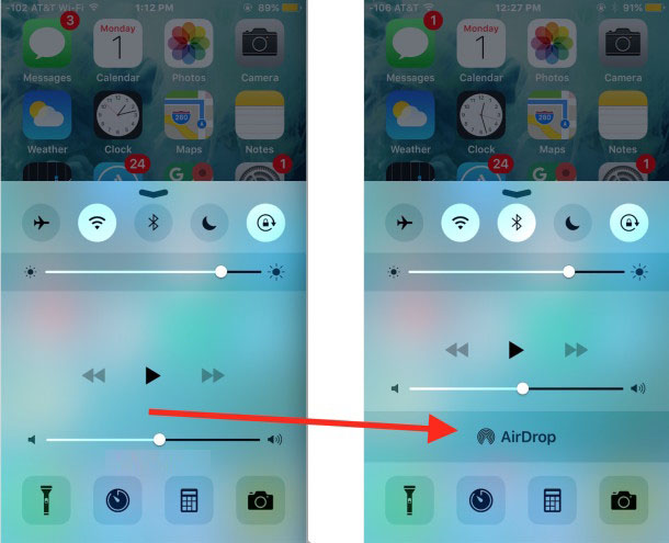 AirDrop Not Showing Up in iOS Control Center on iPhone? Here's How To Fix it!