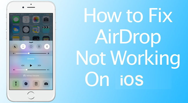 fix airdrop on ios
