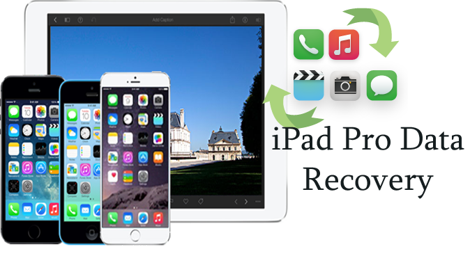 Recover deleted data from iPad Pro