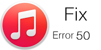 Fix iTunes Error 50 iPhone 4S 5 5C 5S 6 6+ 6S 6S+