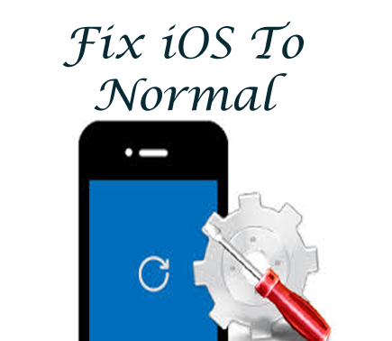Fix iOS To Normal