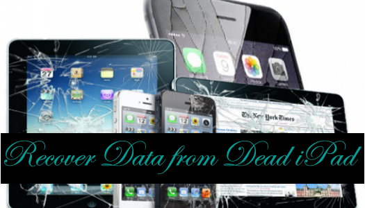 Top 3 Methods To Recover Data From Dead iPad
