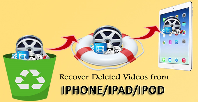 How to Recover Deleted Videos From iPhone/iPad/iPod on Windows/Mac