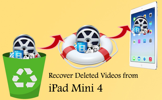 How to Recover Deleted Videos From iPad Mini 4 on Windows/Mac