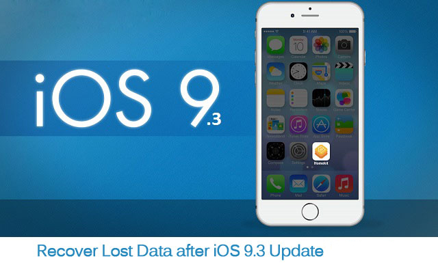How to Recover Lost Data from iPhone/iPad after iOS 9.3 Update on Windows/Mac