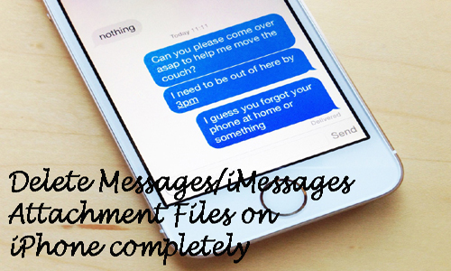 recover Messages/iMessage