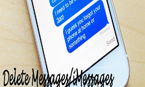 Delete Messages/iMessages Attachment Files on iPhone completely on Windows/Mac
