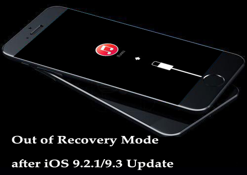 How to Out of Recovery Mode after iOS 9.2.1/9.3 Update on Windows/Mac