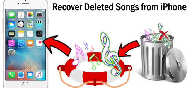 How to Recover Deleted Songs from iPhone on Windows/Mac