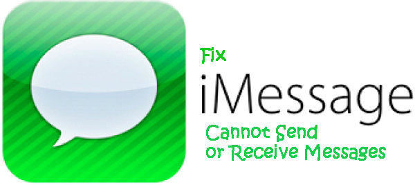 How to Fix iMessage Cannot Send or Receive Messages