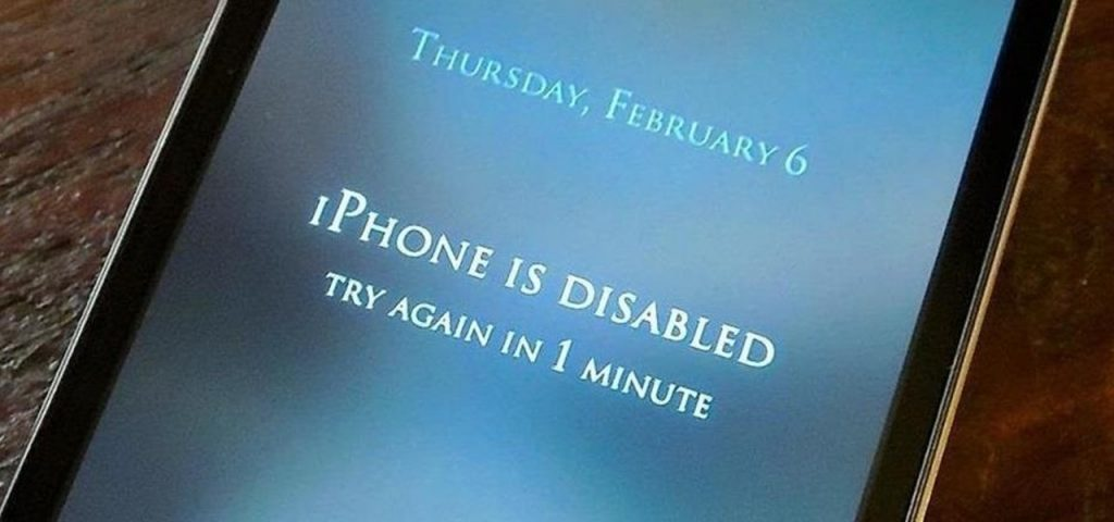 iPhone locked