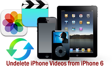 How to Undelete iPhone Videos from iPhone 6 on Windows/Mac
