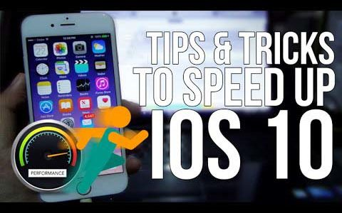 Top 10 Free Methods to Speed up Slow iOS 10, iOS 10.1 on iPhone iPad