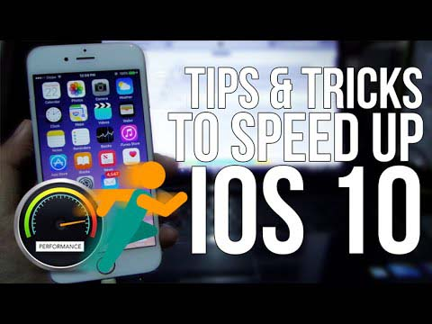 boost ios 10 speed