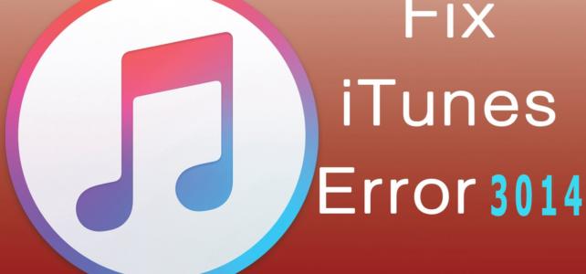 How to Fix iTunes Error 3014 When Updating/Restoring iPhone