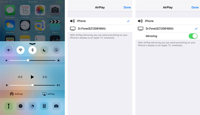 Record iphone screen with ios screen recorder in easy way for Mirror iphone to pc