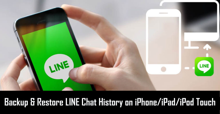 Backup and restore LINE chat history on iOS