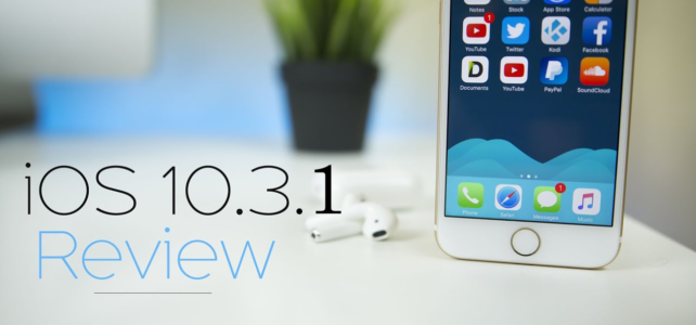 iOS 10.3.1 Update- Apple's New Version Released with Bug Fixes and Security Improvements