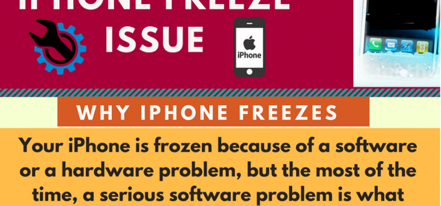 [INFOGRAPHIC]- How to Fix Freezing Issue on iPhone