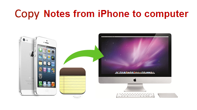 Copy iPhone Notes to PC/Mac