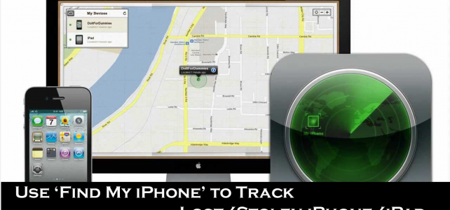 [TIPS]- How to Use Find My iPhone to Track Lost/Stolen iPhone/iPad