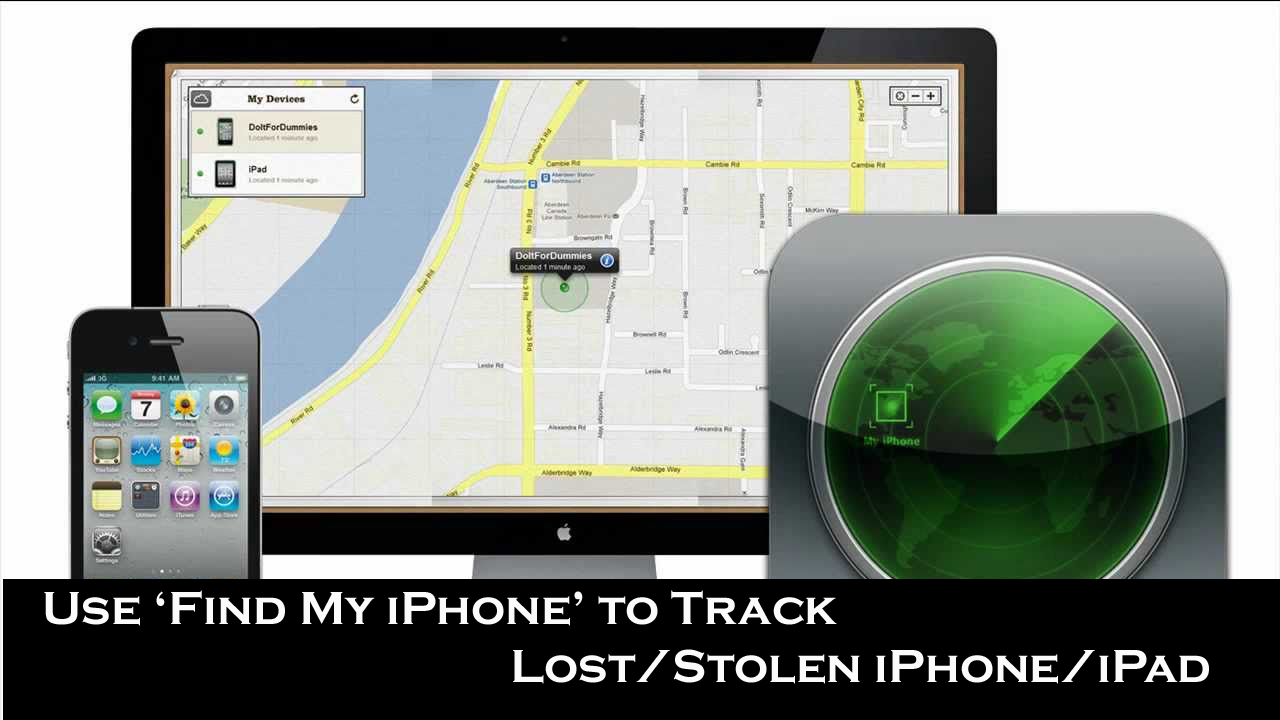Use 'Find My iPhone' to Track Lost/Stolen iPhone/iPad