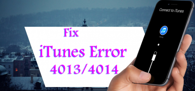 "Complete Guide to Fix ""iTunes Error 4013/4014"" While Updating your iPhone"